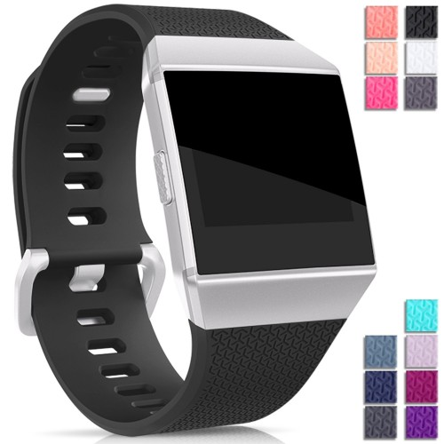 For Fitbit Ionic Classic Strap Bands, Mornex Adjustable Replacement TPU Sport Strap Wristbands for Fitbit Ionic