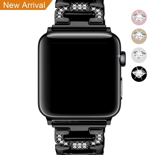 [New Release] For Apple Watch Strap 38mm & 42mm Band, Mornex Iwatch Straps Bracelet Replacement Stainless Steel Metal Accessories for Men & Women for Apple Smart Watch Series 3, Series 2, Series 1